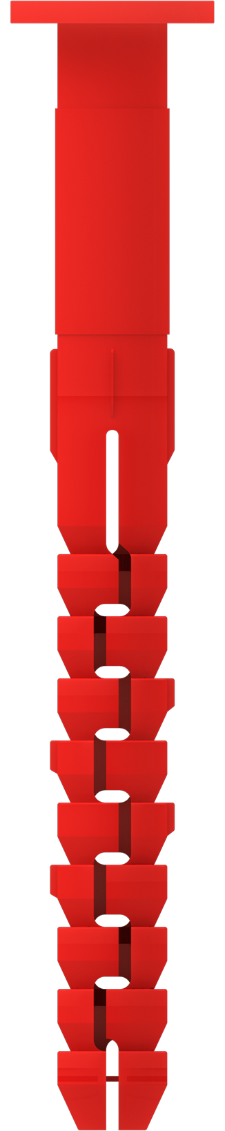 Cтена V2 GEO. Высокопрочный фасадный анкер для крепления кронштейнов навесных фасадных систем c антикоррозионным покрытием распорного элемента GEOMET