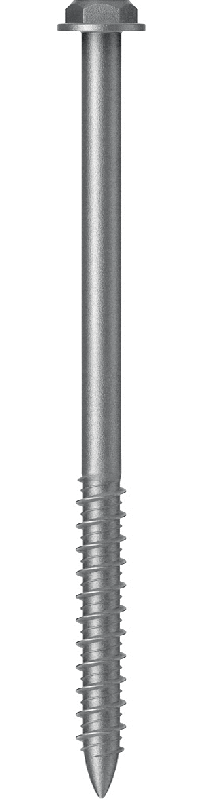 Screw for fastening sandwich panels into concrete or brick foundation.