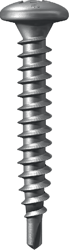 Self-drilling, self tapping screw