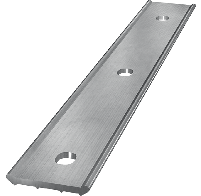 Metal pressure strip