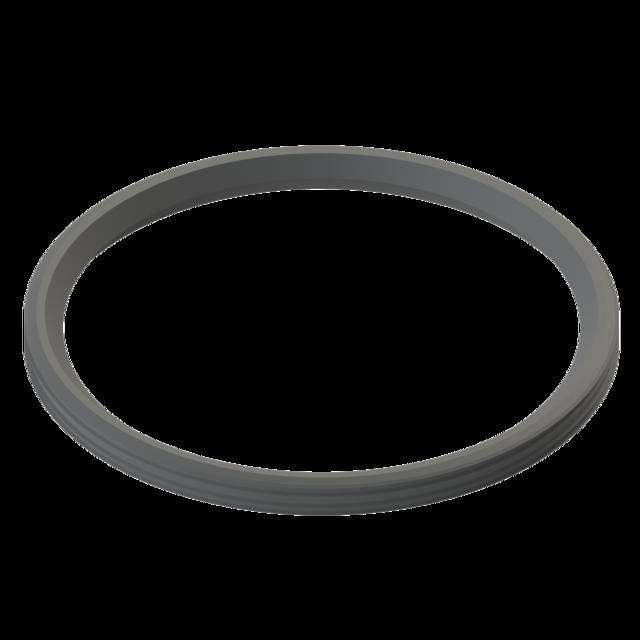 Pressure and sealing rings